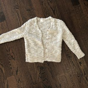 Girl's knitted cardigan by Zara